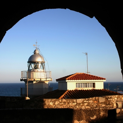 Peñiscola lighthouse