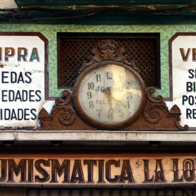 Antique watch shop